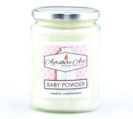 Large Candle Jar - Baby Powder