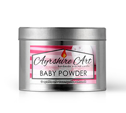 Candle Tin - Baby Powder