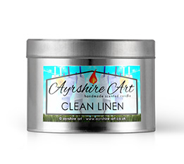 Candle Tin - Clean Linen
