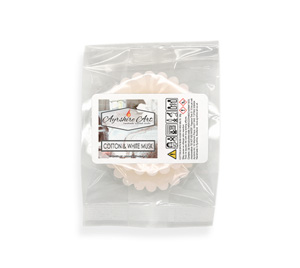 Wax Melts (pack of 2) - Cotton & White Musk
