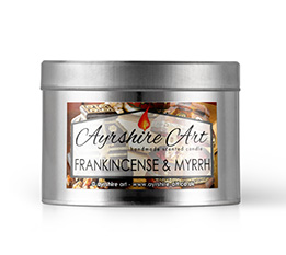 Candle Tin - Frankincense & Myrrh