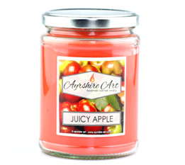 Large Candle Jar - Juicy Apple
