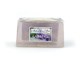 Lavender Essential Soap Slice