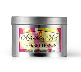 Candle Tin - Sherbet Lemon