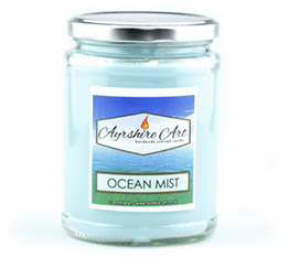 Large Candle Jar - Ocean Mist