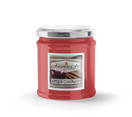 Small Scented Jar Candle - Apple & Cinnamon