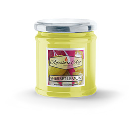 Small Scented Jar Candle - Sherbet Lemon