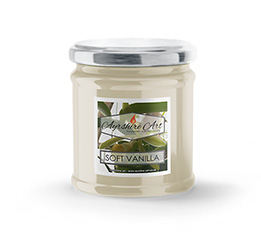 Small Scented Jar Candle - Soft Vanilla